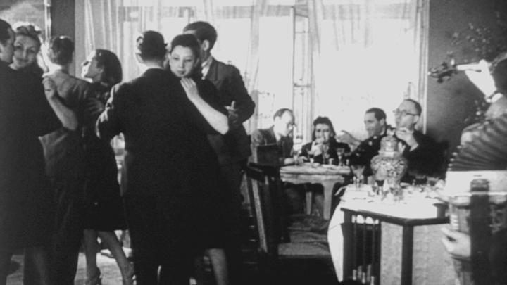 Kadr z jednego z filmów Willego Wista