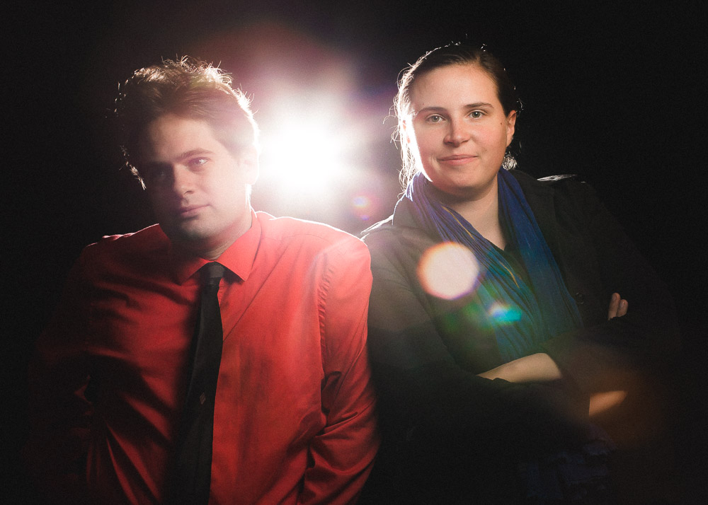 Kyle Westphal and Becca Hall/ Photo: Joe Mazza/Brave Lux